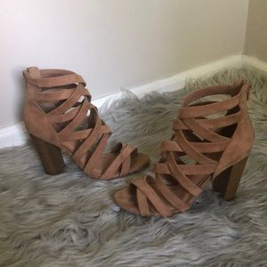Sexy lulus strappy nude heels
